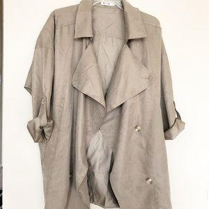 NEW Chic Light Khaki Jacket